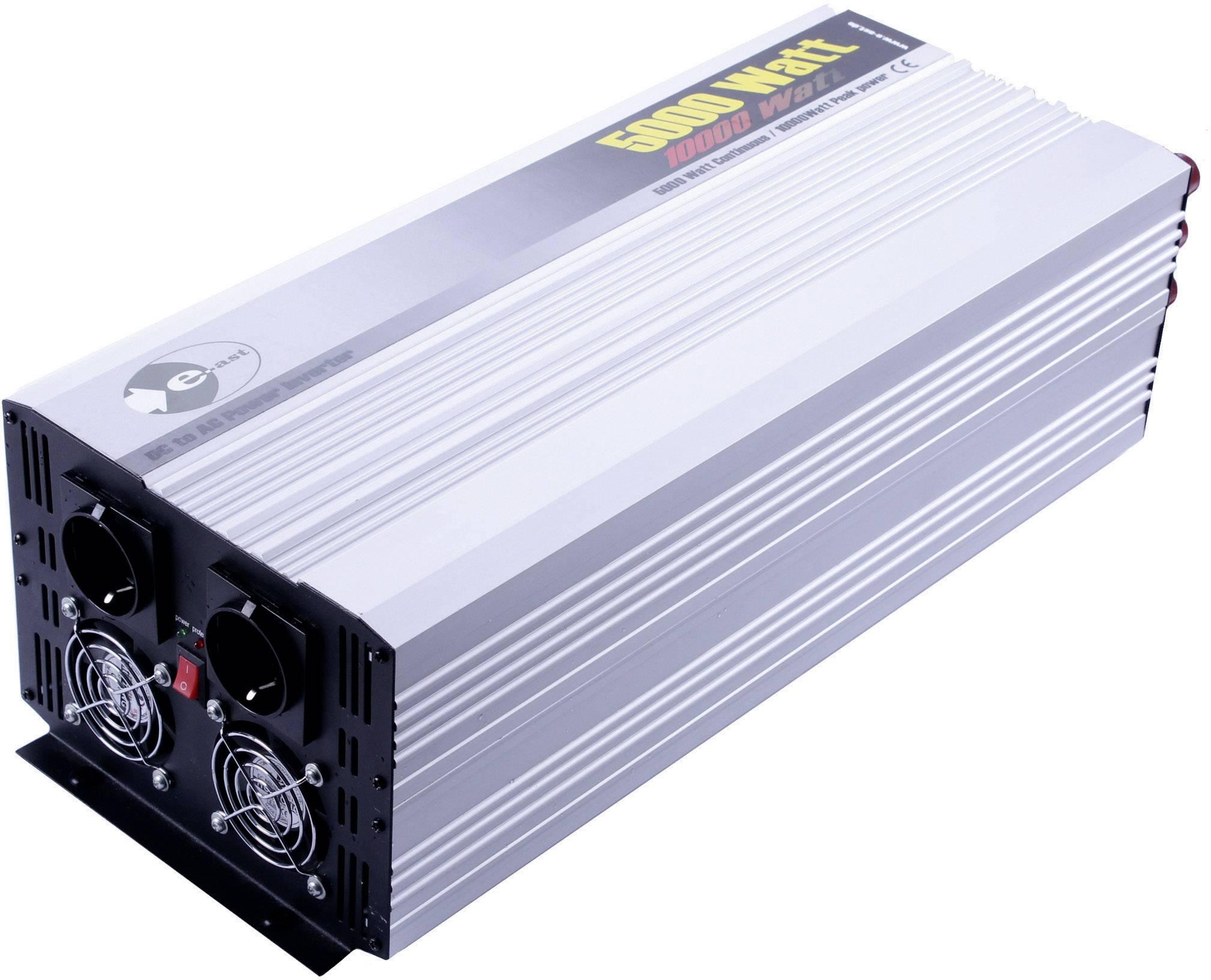 Menič napätia DC / AC e-ast HPL5000-24, 5000 W, 24 V/DC/230 V/AC, 5000 W