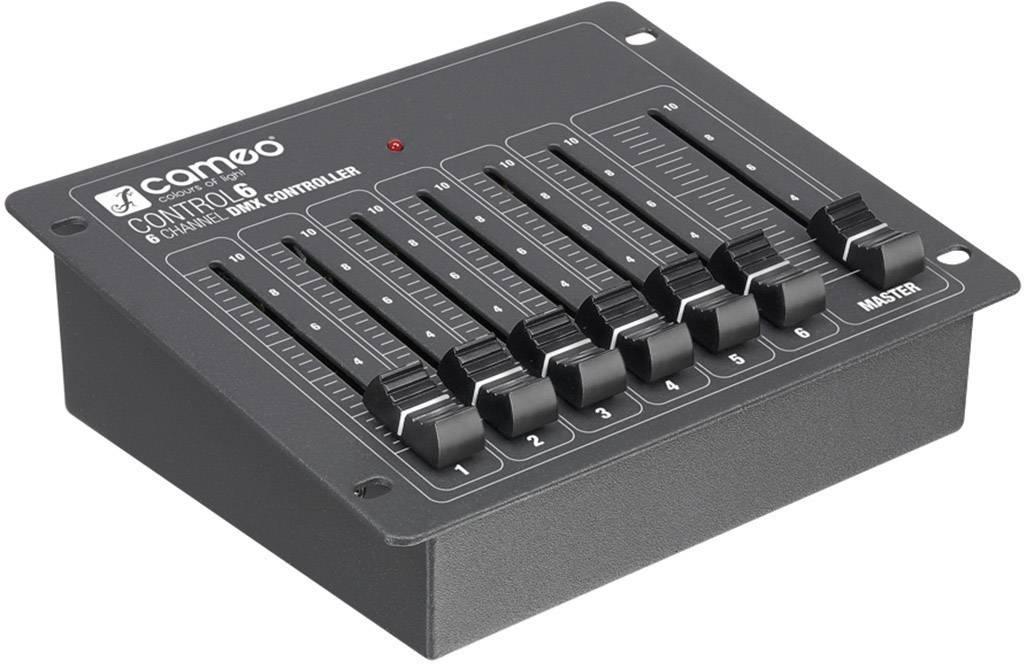 DMX kontrolér Cameo CLCONTROL6 6-kanálový