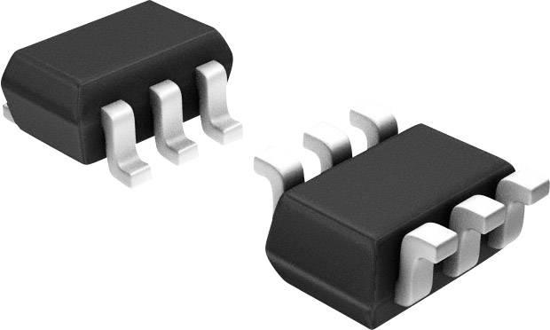 PNP tranzistor (BJT) - Arrays DIODES Incorporated BC857BS-7-F, SOT-363, Kanálov 2, -45 V