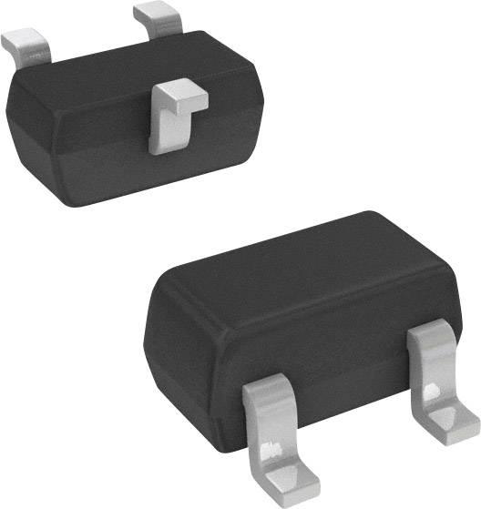 NPN tranzistor BRT tranzistor (BJT) Pre-Biased Nexperia PDTC114TU,115, SC-70 , Kanálů 1, 50 V