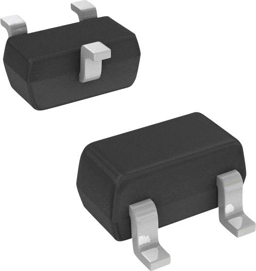 NPN tranzistor BRT tranzistor (BJT) Pre-Biased Nexperia PDTC123JU,115, SC-70 , Kanálů 1, 50 V
