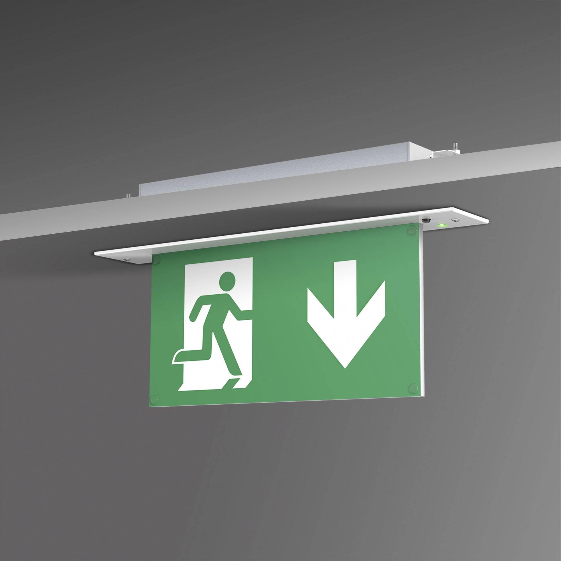 Nouzové osvětlení úniková cesta na strop L-Lux Standard (BR 554 030)