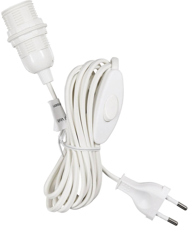 Pripojovací kábel Saico 559091, biela