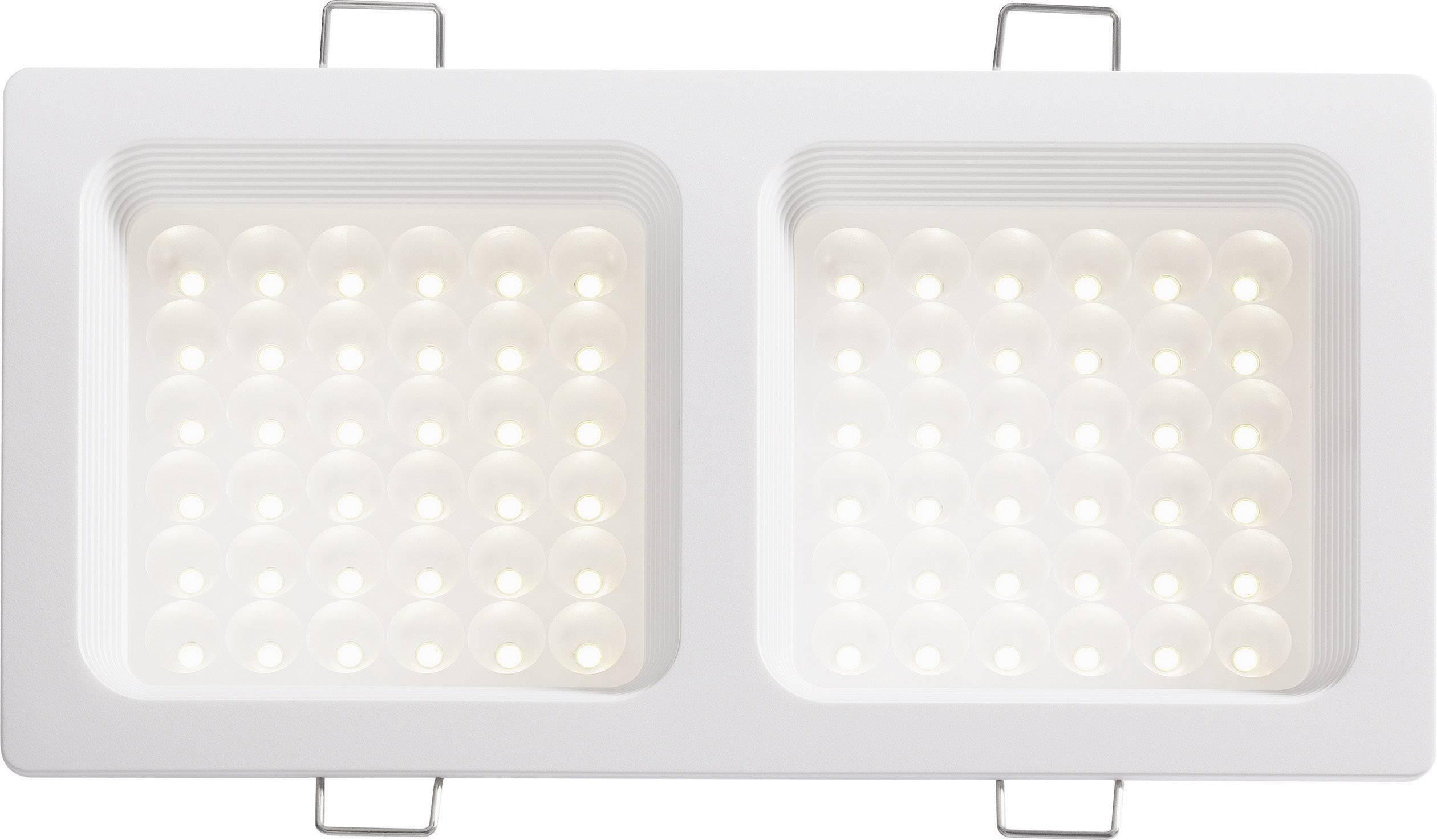 LED vstavané svetlo DD-20720, 18 W, teplá biela, biela