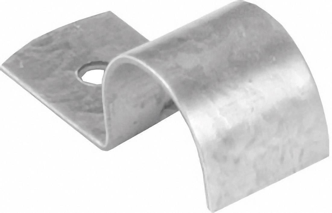 Kovová objímka Ø 24 - 25 mm, 1 ks