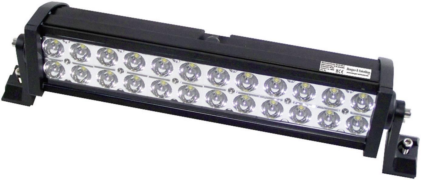 Pracovný svetlomet Berger & Schröter 72 W, 12 V, 24 V, (š x v x h) 405 x 115 x 85 mm, 4600 lm