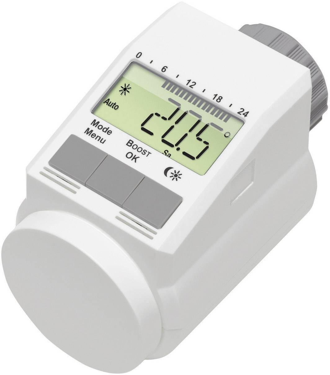 Programovateľná termostatická hlavica eqiva L-Regler CC-RT-O-CNL-W-R5-2 / 130809, 5 do 29.5 °C