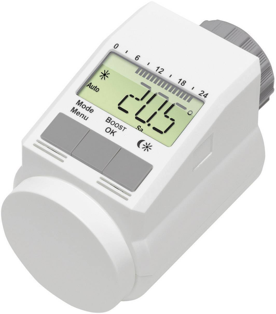 Programovateľné termostatické hlavice