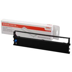 Barevná páska OKI 43571802 ML1120 ML1190, originál, černá 1 ks
