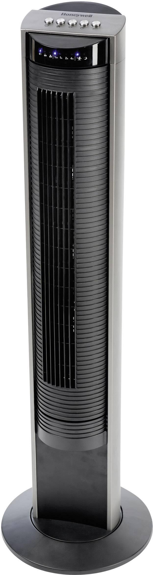 Vežový ventilátor Honeywell HO-5500RE, 38 W, Ø 30.5 cm, 103.5 cm, čierna, sivá