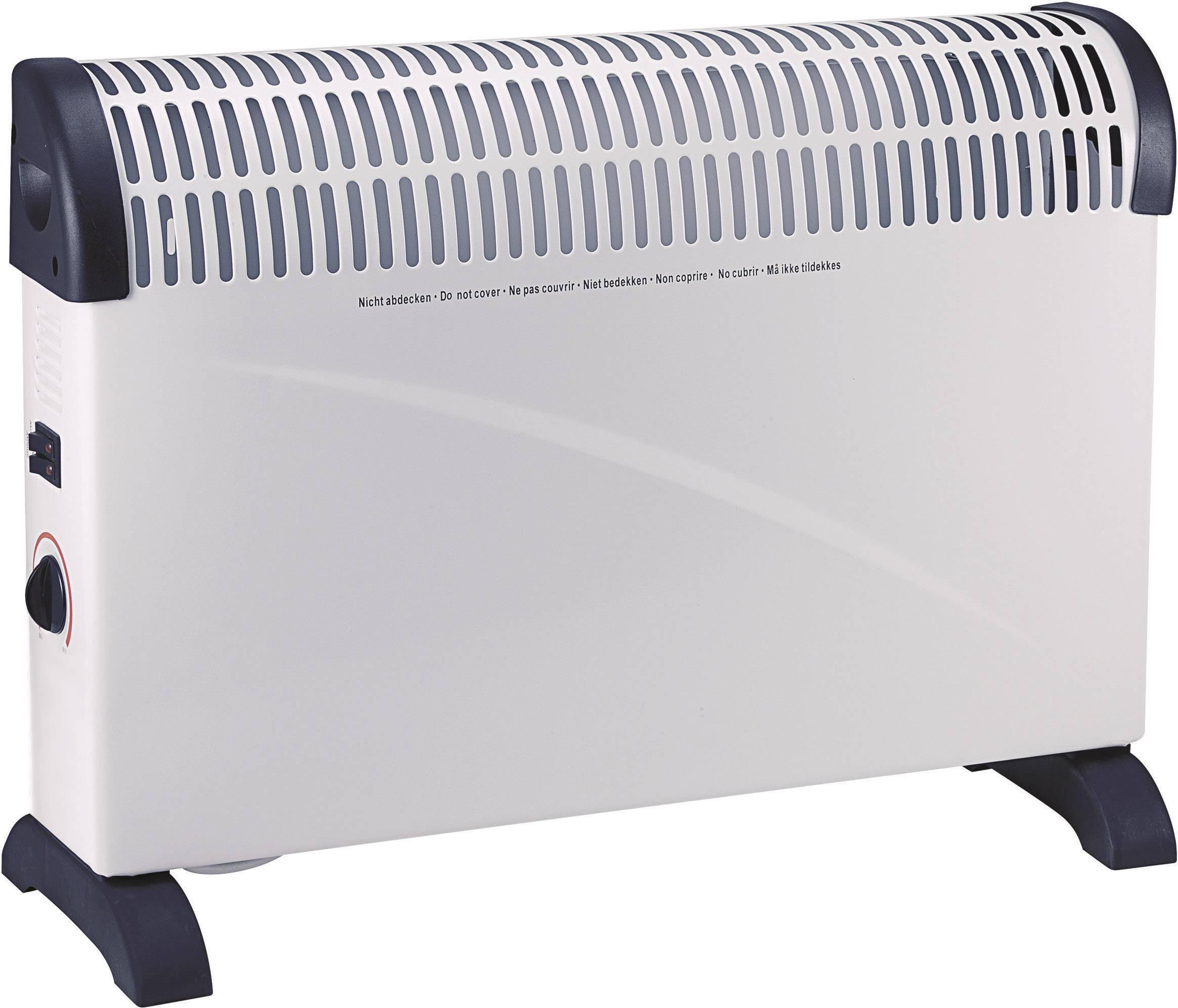Konvektor, CH-2000B, 750/1250/2000 W, světle šedá