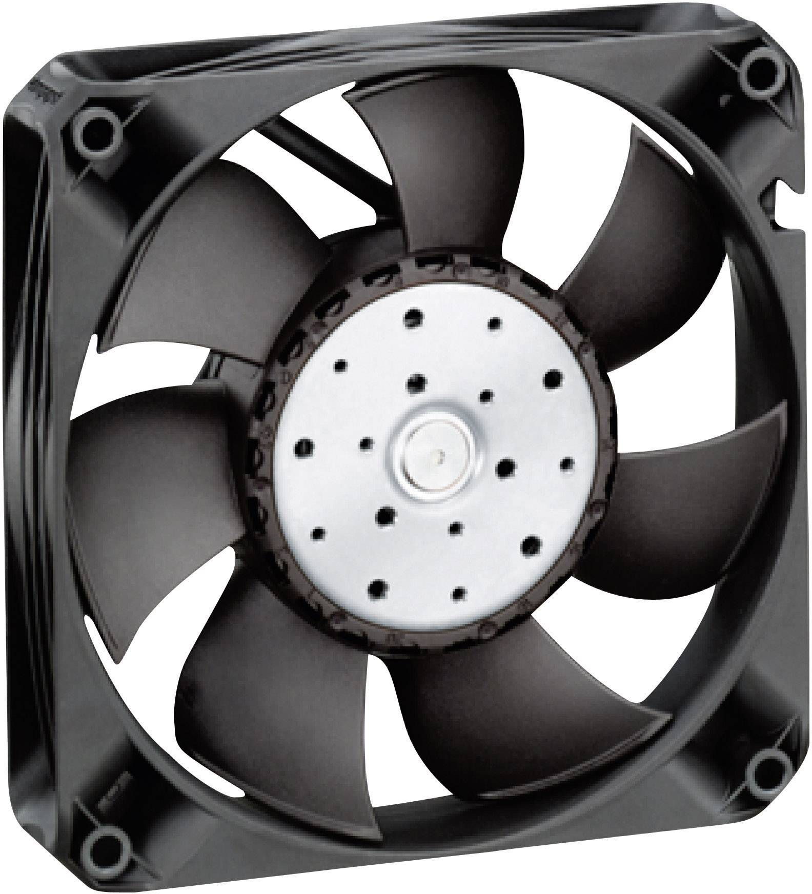 Axiálny ventilátor EBM Papst, 55 dBA, 119 x 119 x 25 mm