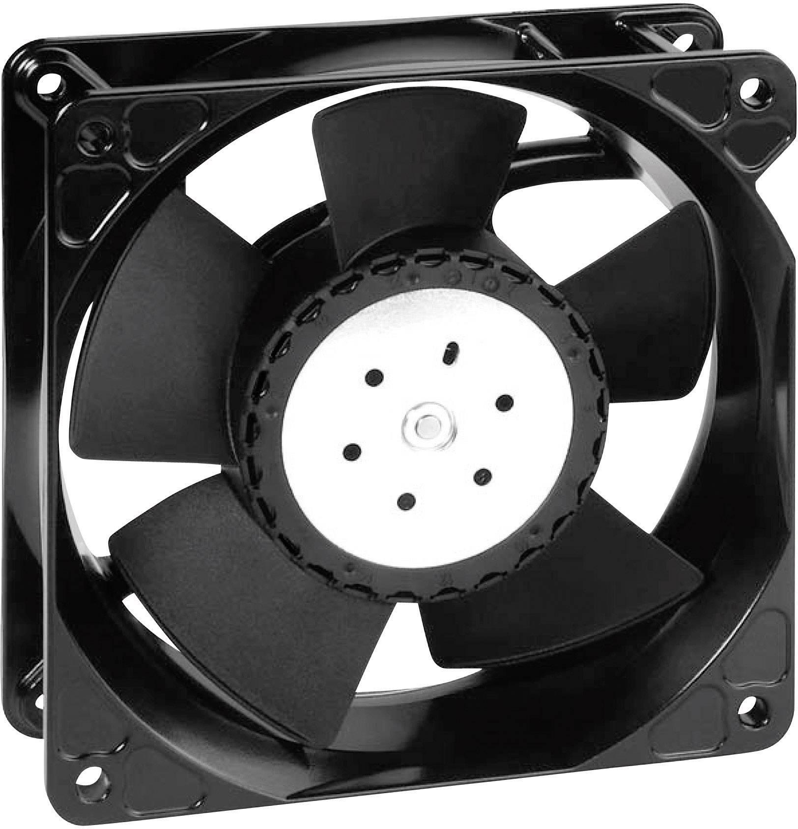 Axiální ventilátor EBM Papst, 4114 N/2H8P, 24 V, 78 dBA, 119 x 119 x 38 mm
