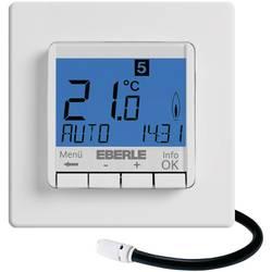 Programovatelný termostat s LCD Eberle FIT-3F, 10 až 40 °C, bílá