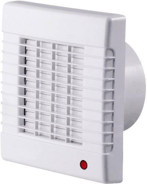 Nástenný a stropný ventilátor so žalúziami SIKU 100, biely