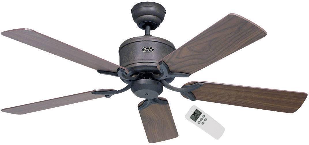 Stropní ventilátor CasaFan Eco Elements, Vnější Ø 132 cm, ořechová, buk