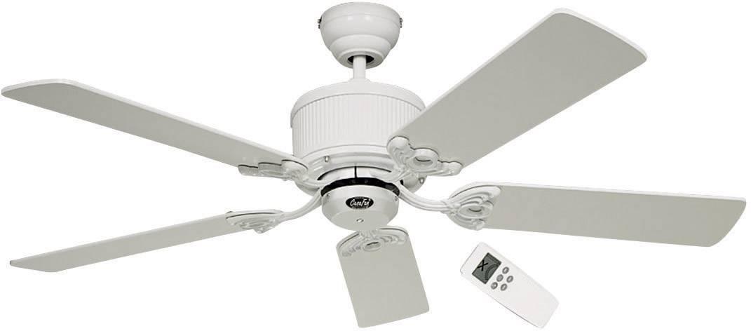 Stropní ventilátor CasaFan Eco Elements, Vnější Ø 132 cm, bílá, šedá