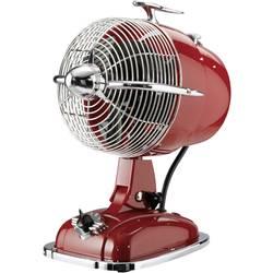 Stolný ventilátor CasaFan Retrojet, 24 W, (Ø x v) 18.2 cm x 32 cm, rubínovo červená, chróm