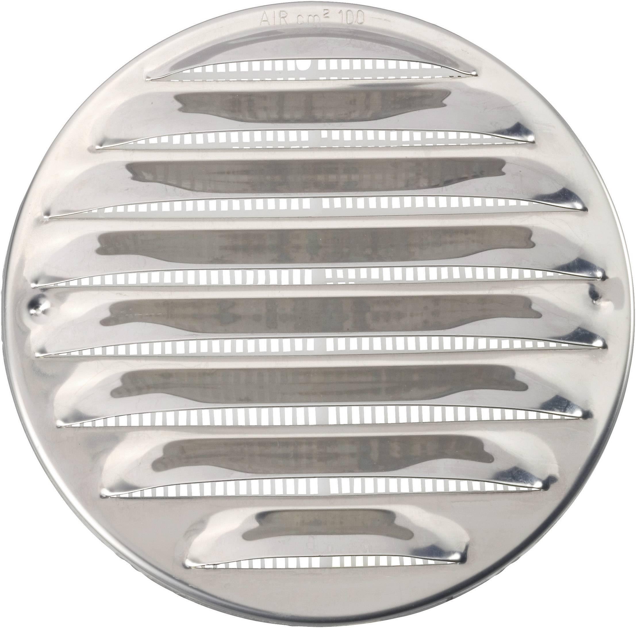 Odsávacia mriežka vhodný pre trubice s Ø 10 cm, ušľachtilá oceľ