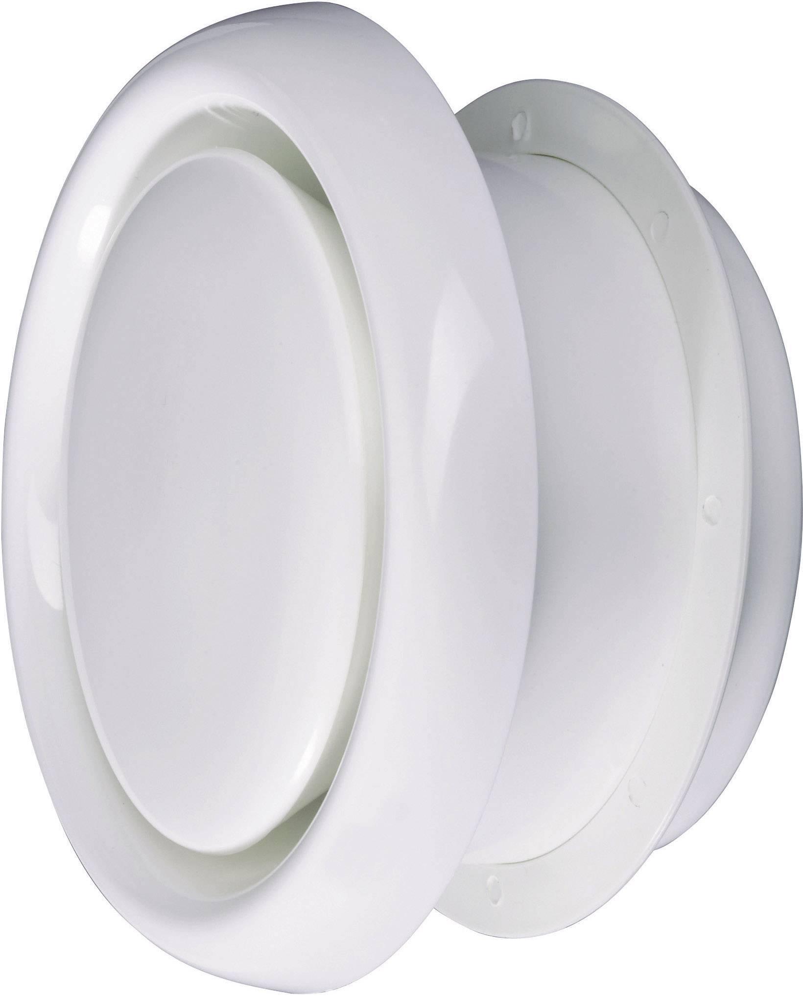Tanierový ventil Wallair N35912, vhodný pre trubice s Ø 15 cm, umelá hmota