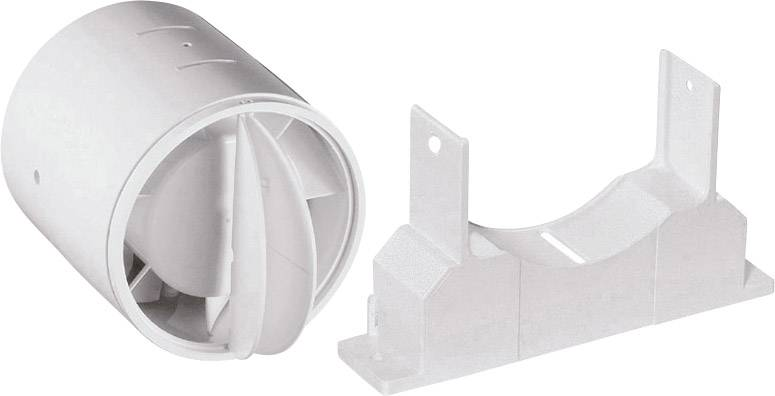 Zpětná klapka vhodný pro trubice s Ø: 10 cm Wallair N40819 bílá