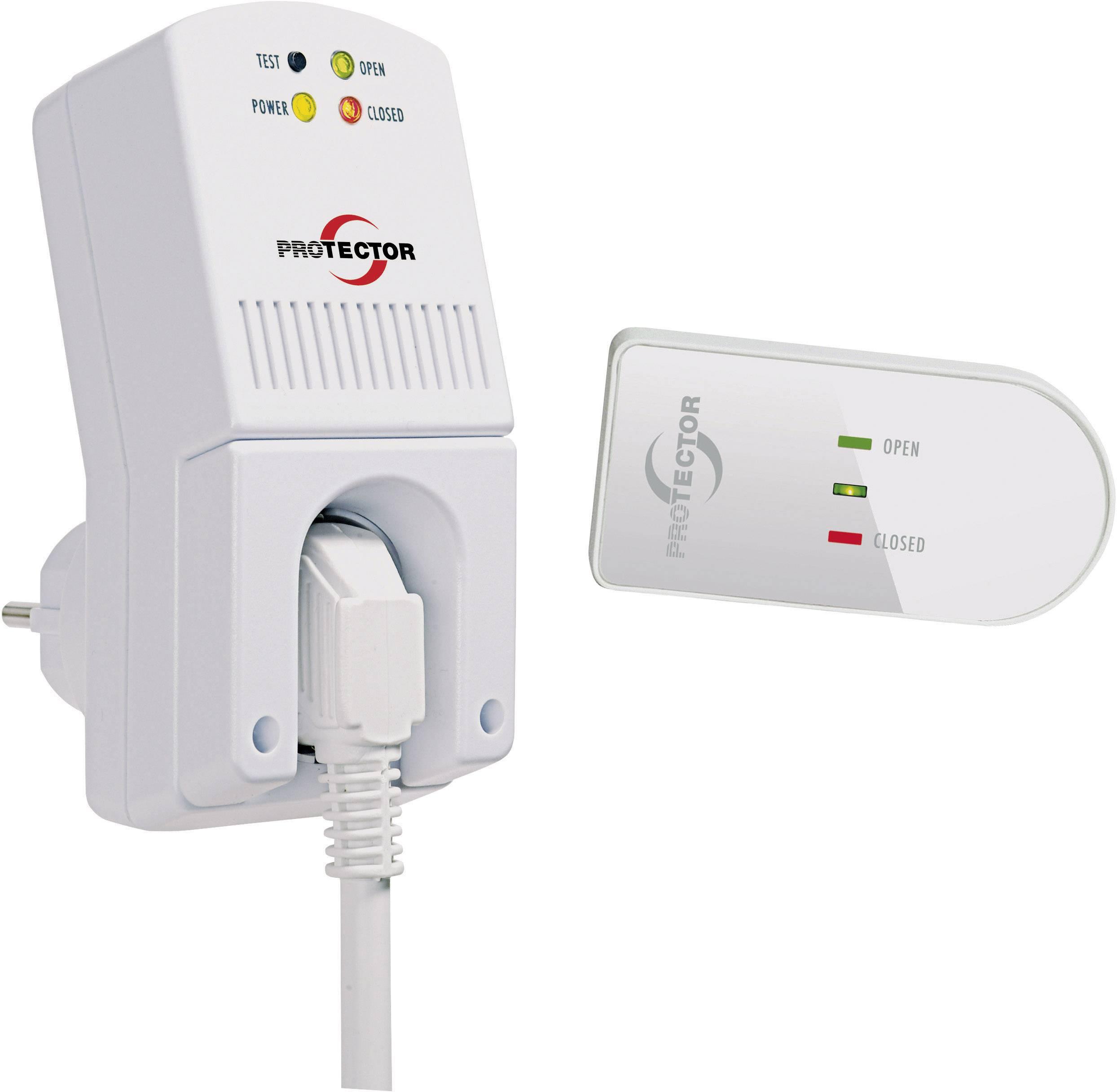Bezdrôtové ovládanie odvodu vzduchu Protector AS 5020, 1300 W, biela