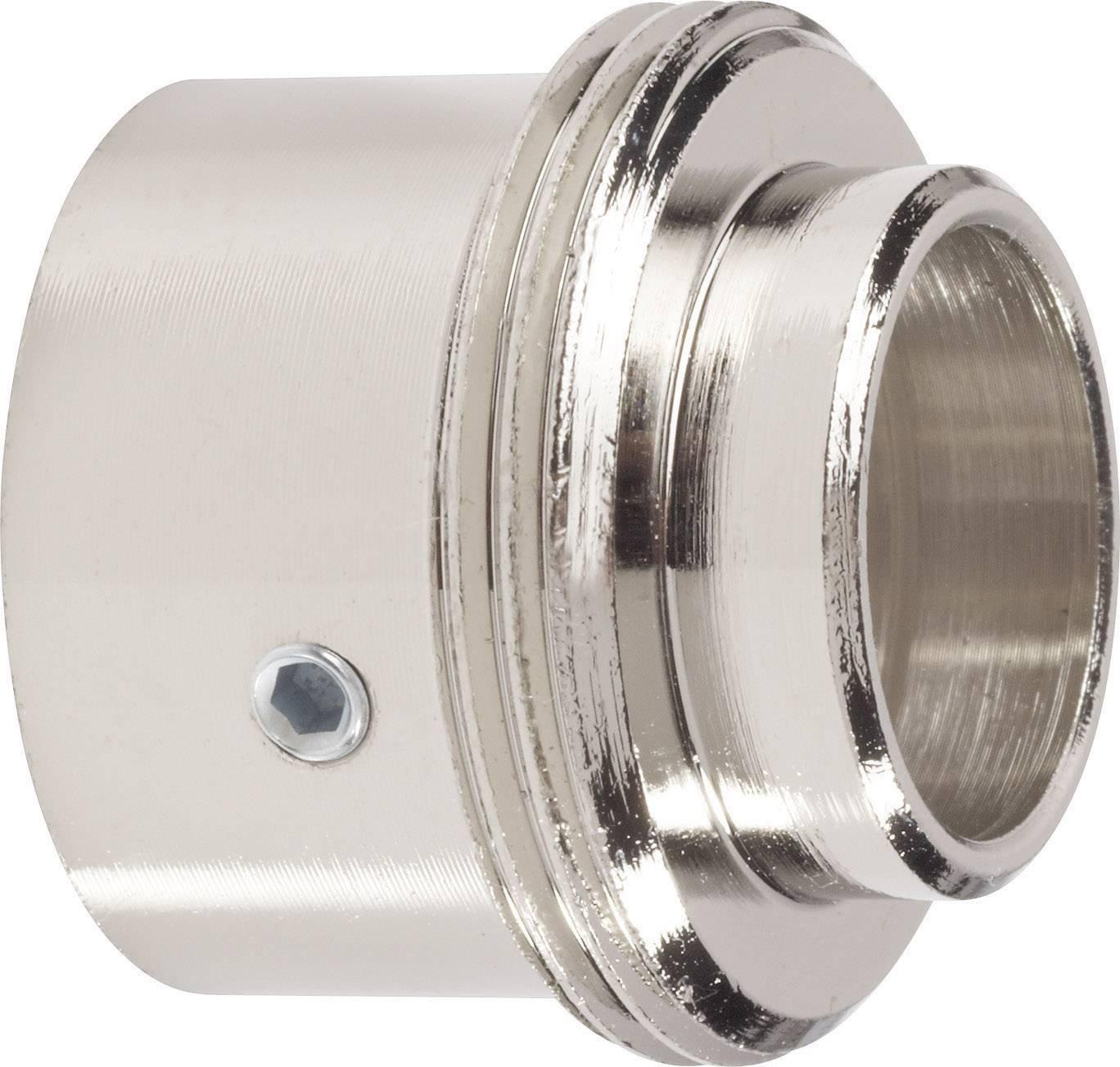 Mosadzný adaptér termostatu Danfoss RA 700 100 005 vhodný pre DanfossRA, 20 alebo 23 mm so 4 vrúbkami