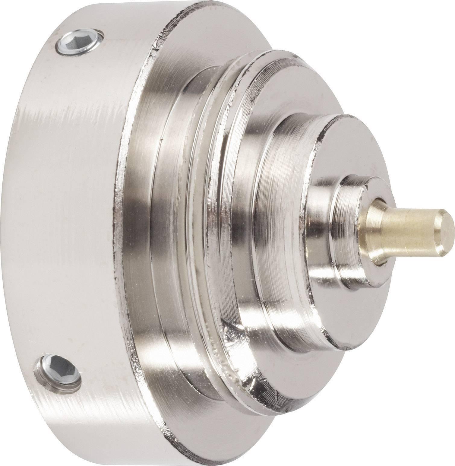 Mosadzný adaptér termostatu 700 100 008 vhodný pre DanfossRAV, 34 mm so 4 vrúbkami