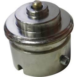 Mosazný adaptér termostatického ventilu Giacomini 700105 vhodný pro topné těleso Giacomini, 22,6 mm