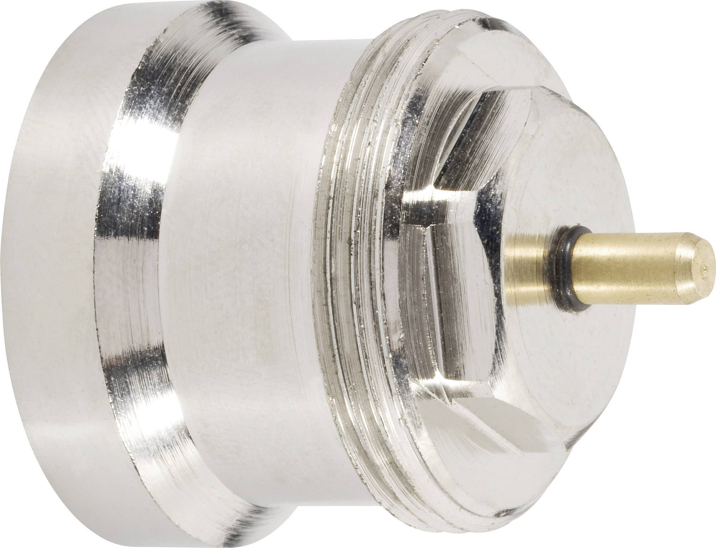 Mosadzný adaptér termostatu 700 100 002 vhodný pre Oventrop, M30 x 1.0