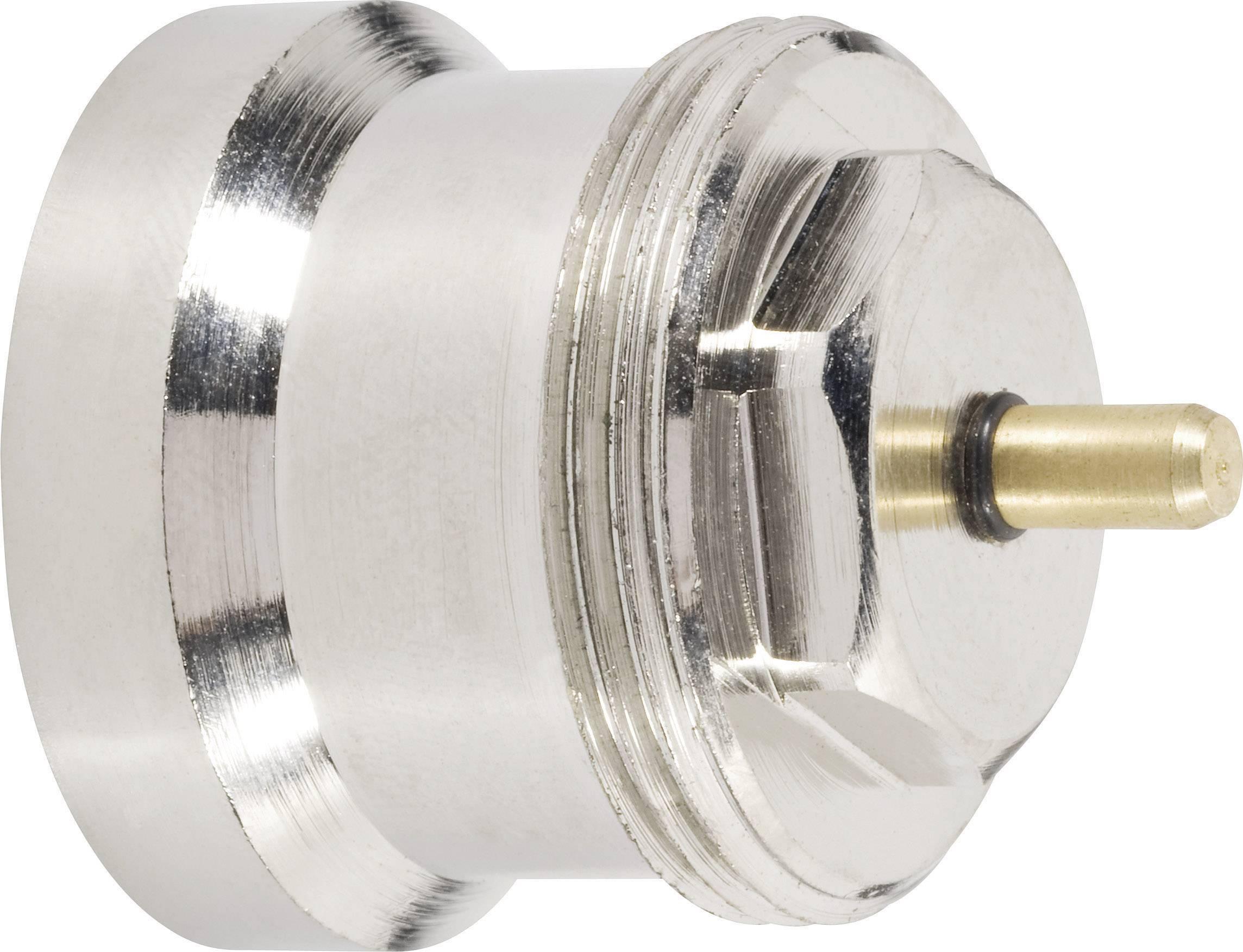 Mosazný adaptér termostatického ventilu Oventrop 700 100 002 vhodný pro topné těleso Oventrop, M30 x 1,0