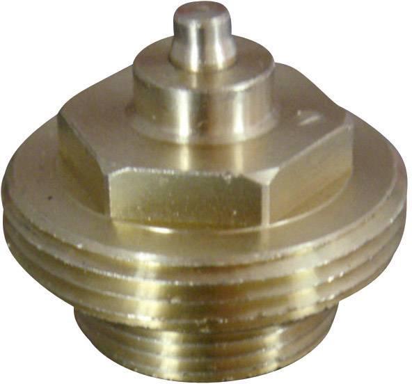 Mosazný adaptér termostatu Gampper 700 100 012-1 700 100 012-1 vhodný pro topné těleso Gamper, M20 do hloubky 10 mm