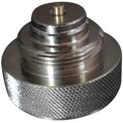 Mosazný adaptér termostatického ventilu Meges 700113 vhodný pro topné těleso Meges, M38 x 1,5