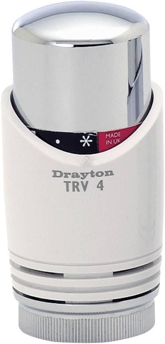 Termostatická hlavica TRV 4, biela/chróm