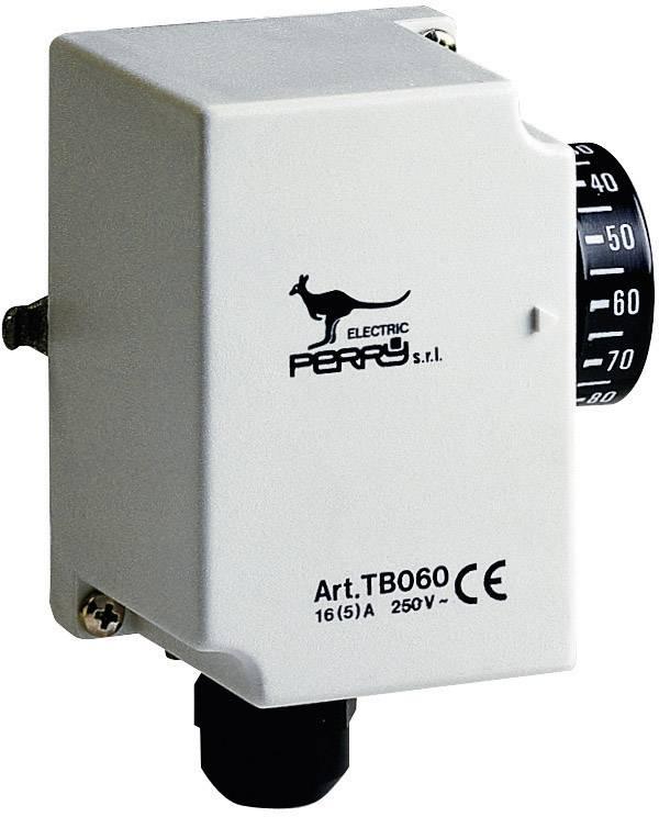 Priemyselný termostat rúrkový Perry Electric 1TCTB060, 30 až 90 °C