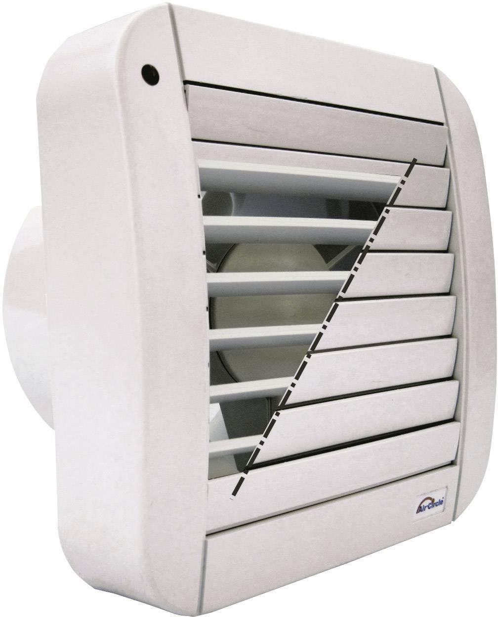 Nástenný a stropný ventilátor ECO-MATIC 125 mm