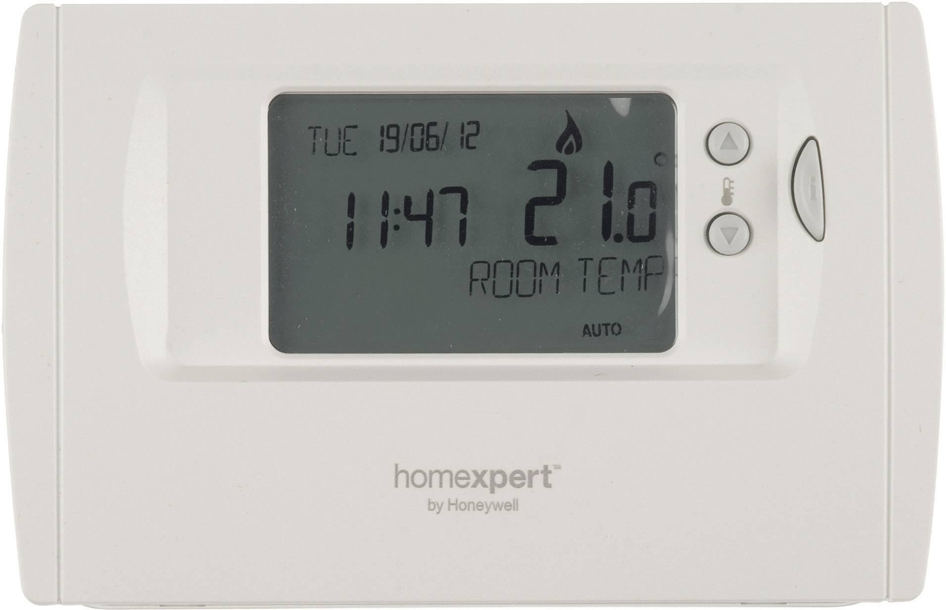 Programovateľný izbový termostat Homexpert by Honeywell THR870CBG, biely