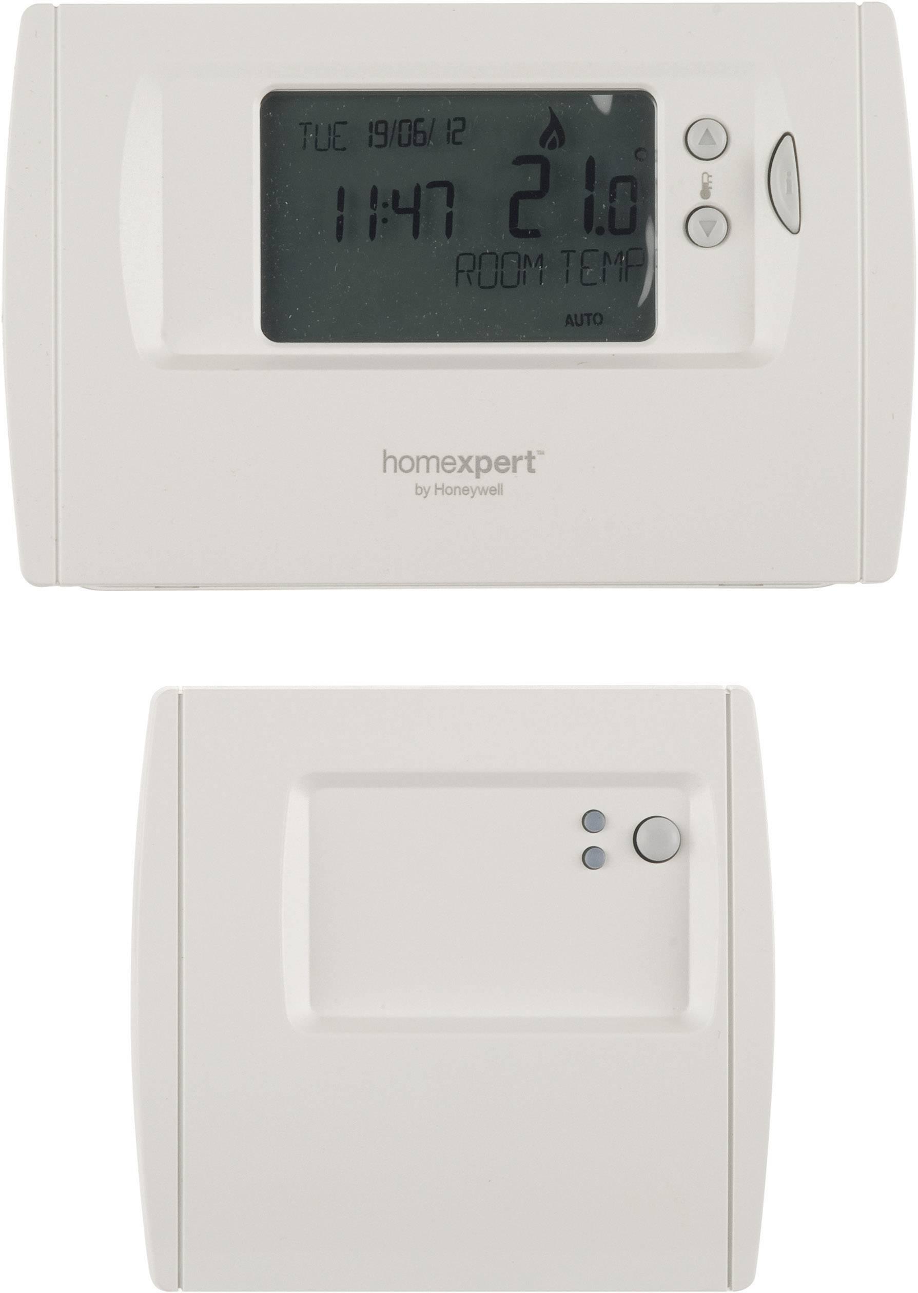 Programovatelný termostat s LCD Homexpert by Honeywell THR872CBG, bílá