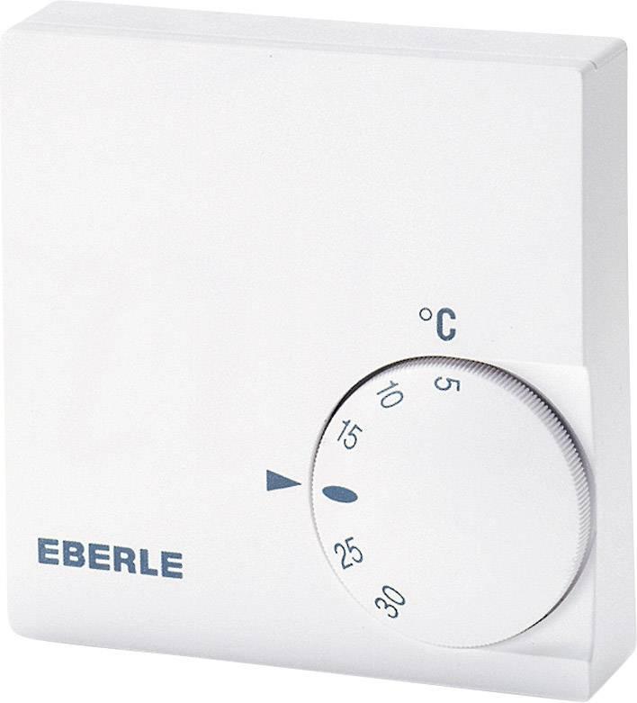 Izbový termostat Eberle RTR-E 6124, 5 až 30 °C, biely