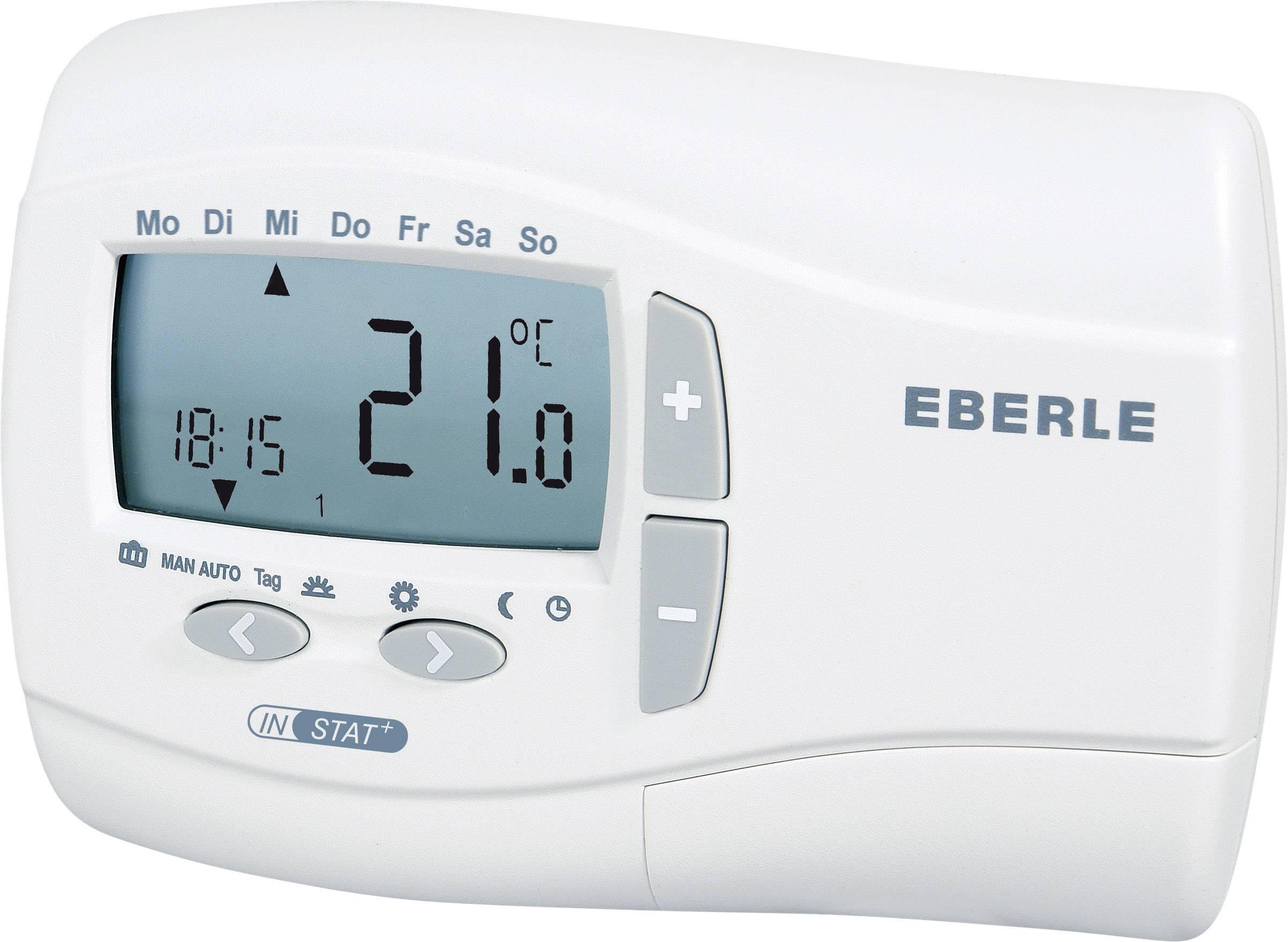 Izbový termostat Eberle Instat Plus 2R, 7 až 32 °C, biely