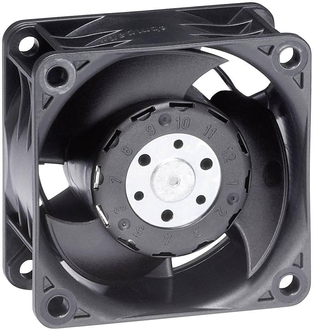 AC axiálny ventilátor EBM Papst 612 J/2H, 53 dBA, 60 x 60 x 32 mm