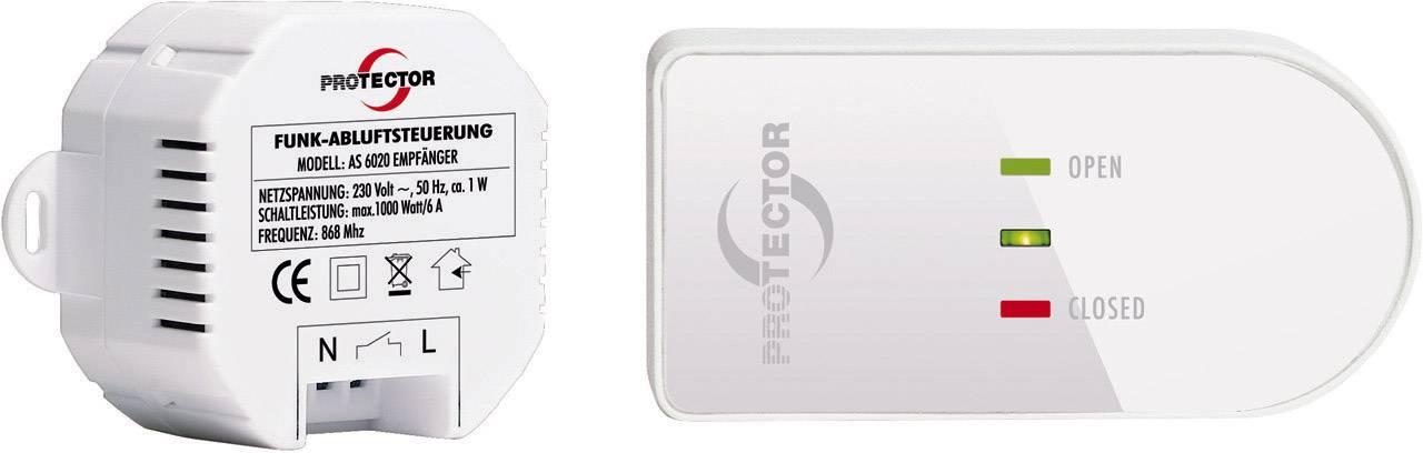 Bezdrôtové ovládanie Protector AS 6020, 1000 W, biela, hnedá