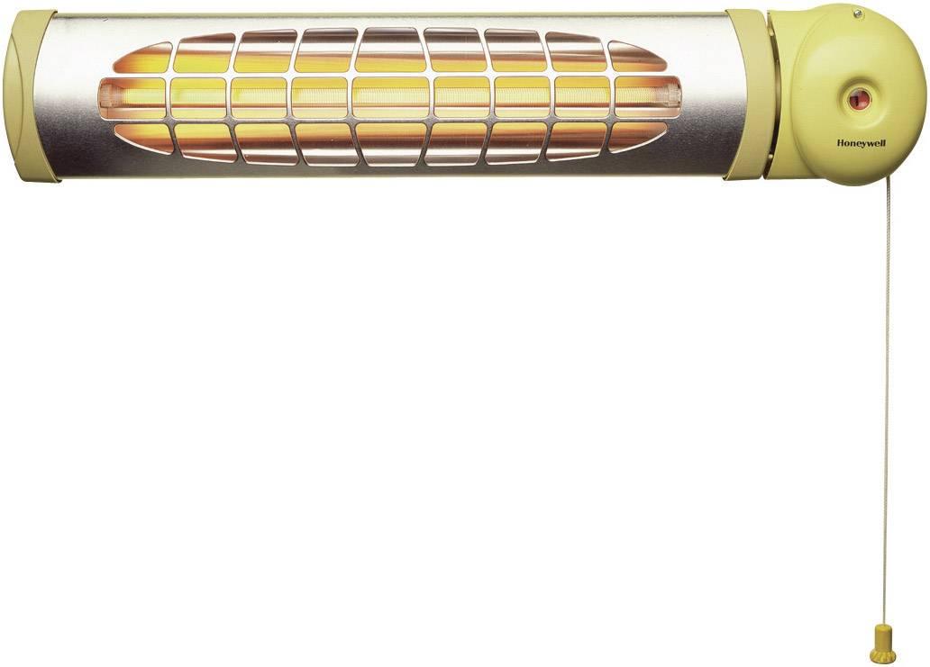 Kúpeľňový ohrievač Honeywell QHB 600E 7600005, 10 m², 600 W, pastelová žltá