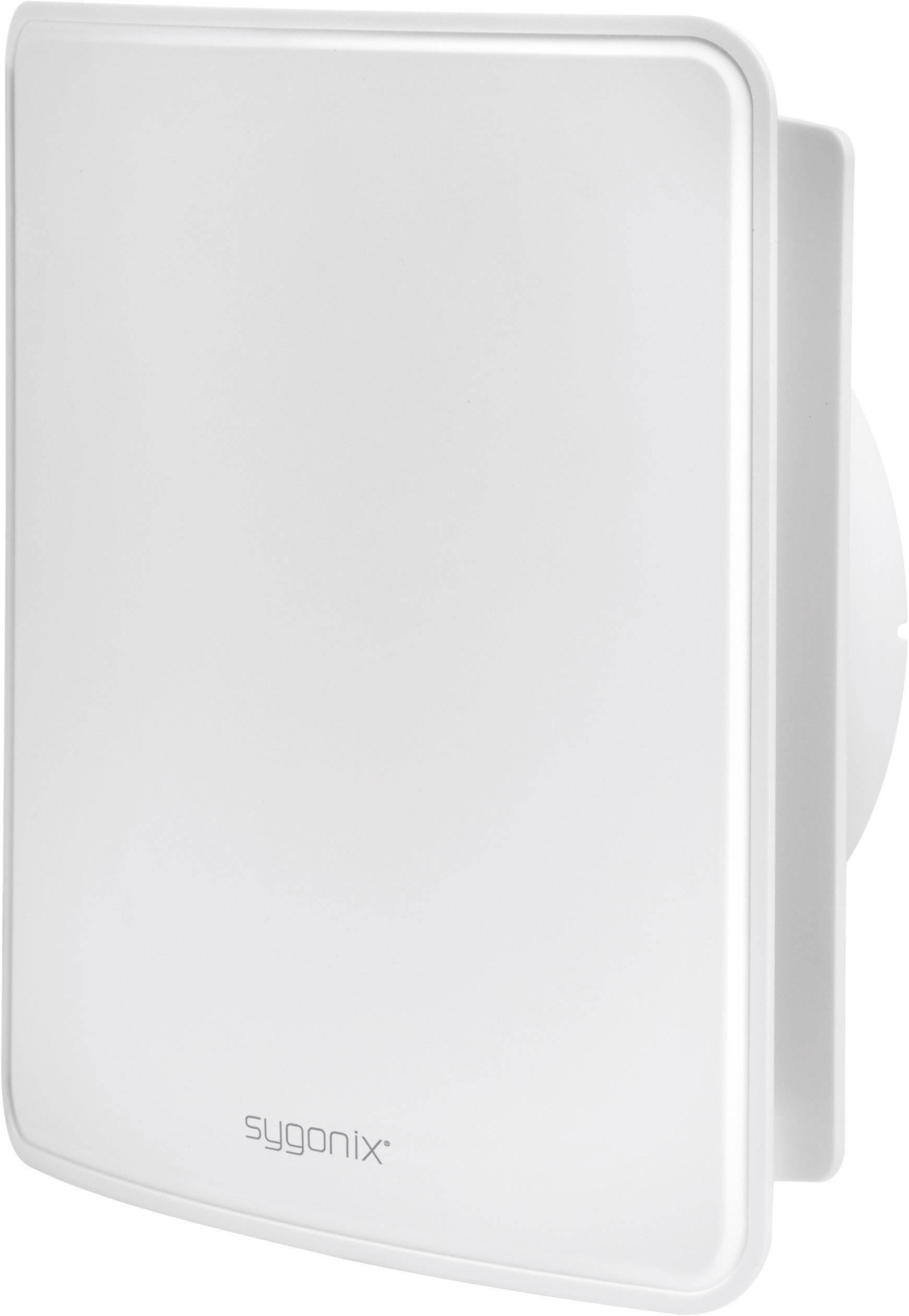 Kryt na trubkový ventilátor Sygonix, 125 mm, bílá