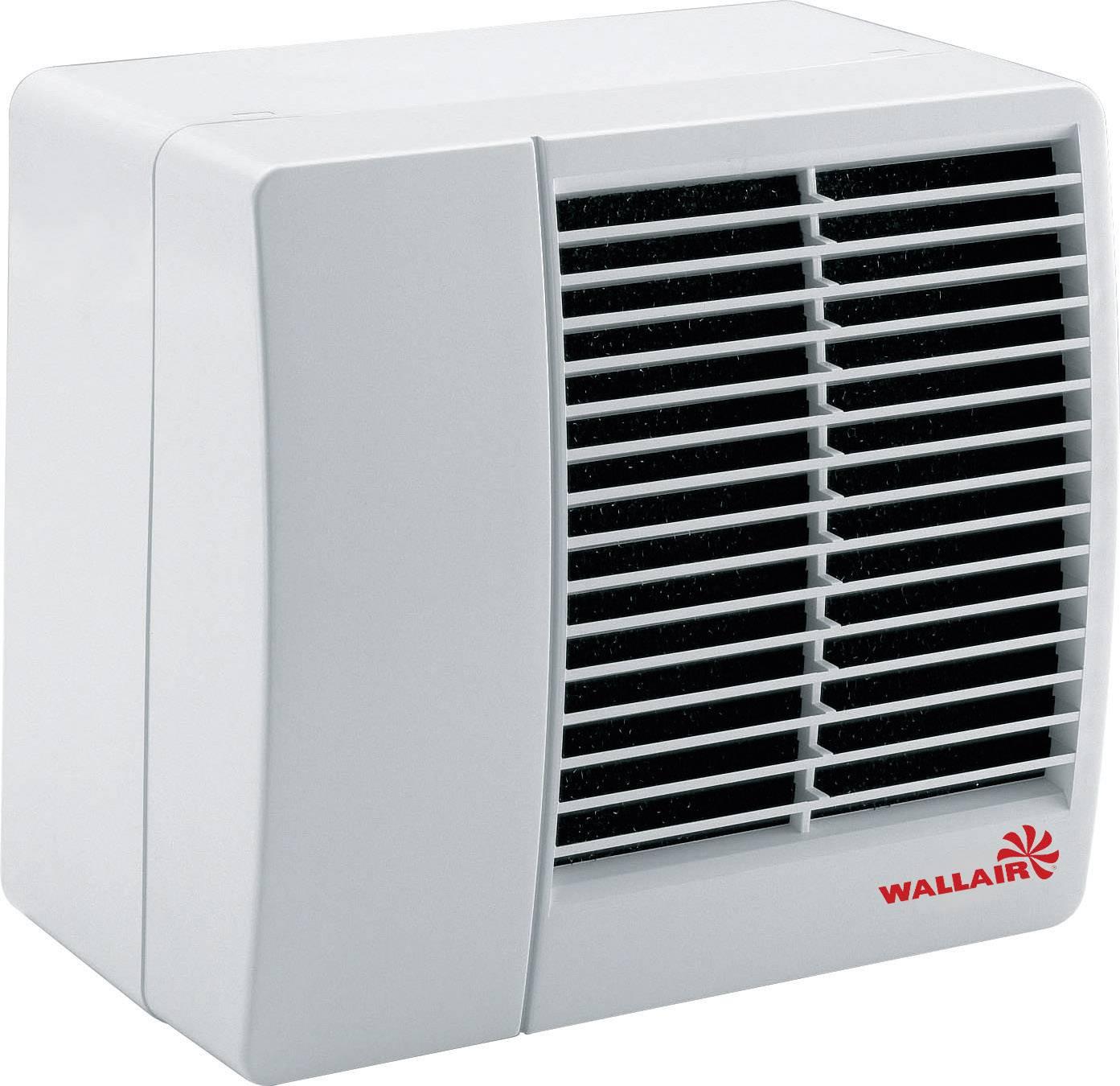 Centrifugový ventilátor Wallair Radia Ø 300 mm, bílý