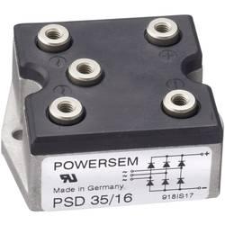 Můstkový usměrňovač 3fázový POWERSEM PSD 35T-16, U(RRM) 1600 V