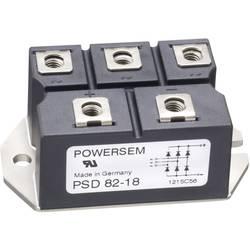 Můstkový usměrňovač 3fázový POWERSEM PSD 62-18, U(RRM) 1800 V