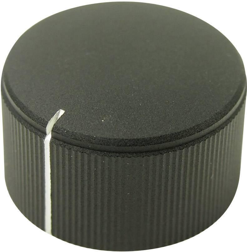 Otočný gombík Cliff FC7255, (Ø x v) 25 mm x 15 mm, čierna, 1 ks