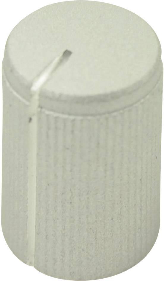 Otočný knoflík Cliff FC7250, pro sérii KMK10, 6 mm, s drážkováním, stříbrná