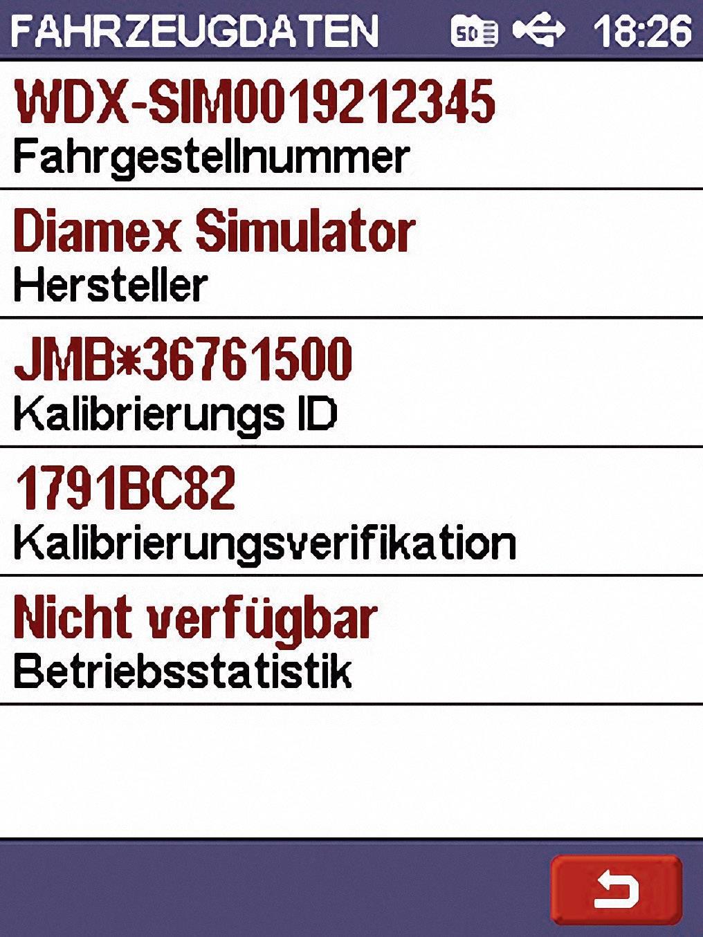 Automobilový diagnostický přístroj OBD II, Diamex 7101 ...